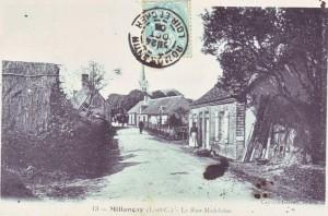 carte postale ancienne - 6 rue Madeleine