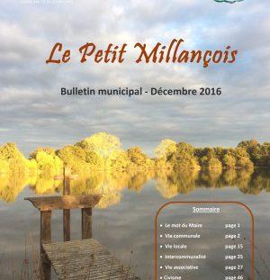 Bulletin Municipal – Décembre 2016