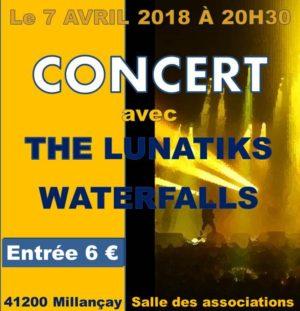 Concert Cap Jeun's Millanscène le 7 Avril