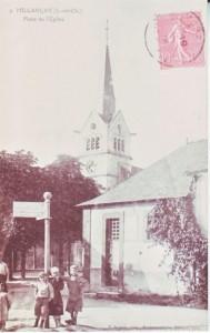 carte postale ancienne - 2 place Madeleine