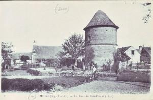 carte postale ancienne - 7 la tour du bois fleuri