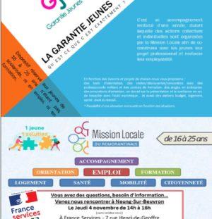 Mission locale – Garantie Jeunes